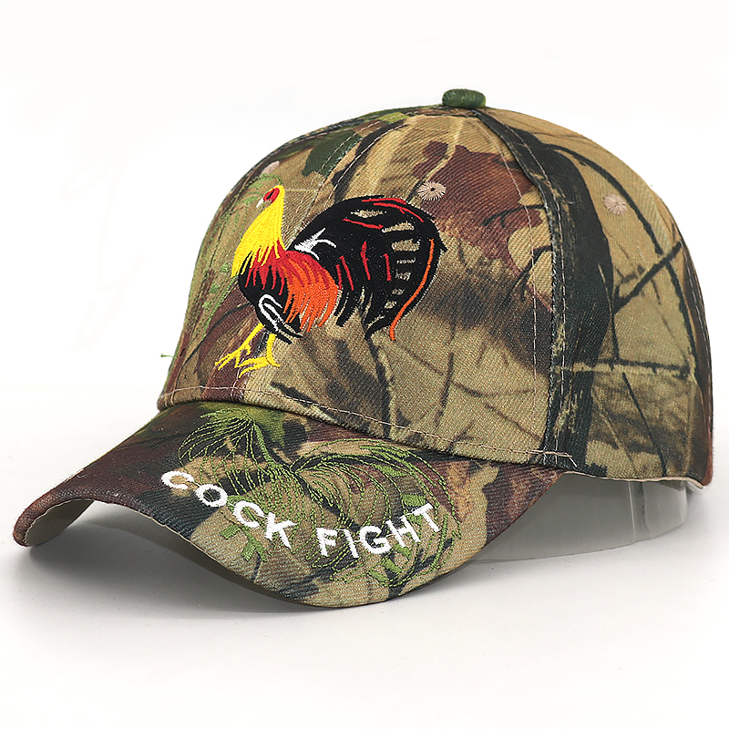 Custom Camo Mesh Trucker Hat Equestrian Outline Embroidery Cotton One Size