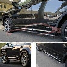 Дизайн подходит для LEXUS RX RX350 RX450h F Sport подножку Подножка Nerf БАР алюминия сплав стайлинга автомобилей