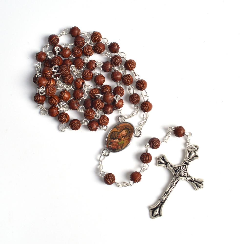 Small Size Beads: Trendy Religious Small Size Rose Shape Acrylic Beads Our