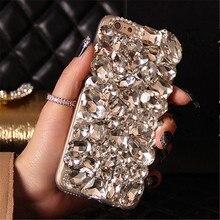 Для Samsung A3 A5 A7 J1 J2 J3 J5 J7 2016 2017 премьер-A8 A9 Роскошный Блеск Алмазный Кристалл Горного Хрусталя Телефон Case Мягкий назад крышка