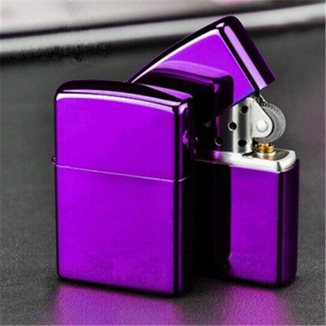 Retro Lighter Kerosene Oil Lighter Grinding Wheel Refillable Cigarette Cigar Tobacco Bar Lighters Fire Advertising Logo Custom