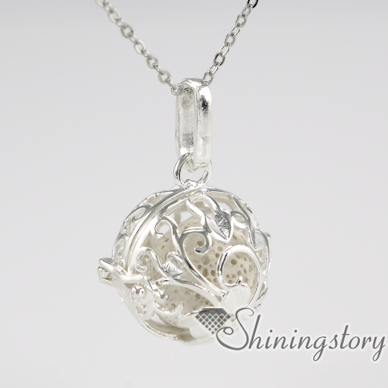 Ball metal volcanic stone silver heart locket oil diffuser jewelry locket with charms inside ceramic diffuser necklace openwork in pendants from ball metal volcanic stone silver heart locket oil diffuser jewelry locket with charms inside ceramic diffuser  Images