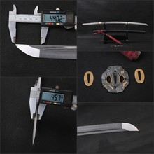Handmade Forge Knife Full Tang Folded Steel Damascus Katana  Practical High Quality Japanese Samurai Sword