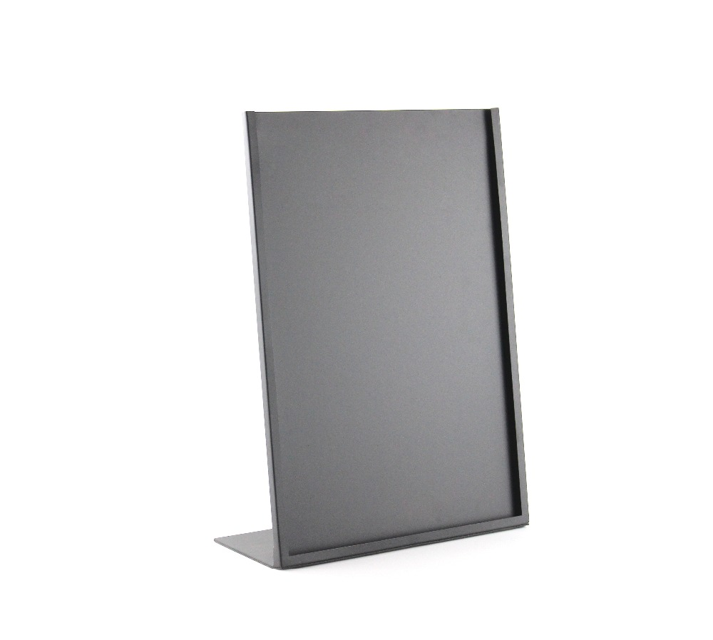 A3 Black White L Poster Frame Metal Photo Frame Poster Stand ...