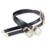 2016 marca de moda Vintage de metal cintos Correia fêmea ouro prata do metal fivela de cinto Das Calças de Brim de couro do Desenhador para mulheres