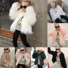 girls coats  kids fur coat  baby girl winter clothes  girl jacket brand baby infant girls fur winter warm coat 2018 cloak jacket thick warm clothes baby girl cute hooded long sleeve coats jacket