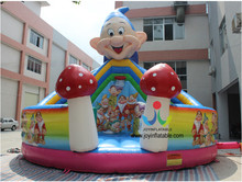 Dia 6 Commercial Inflatable Jumping Bouncer, Inflatable Combo Bouncy and Slide