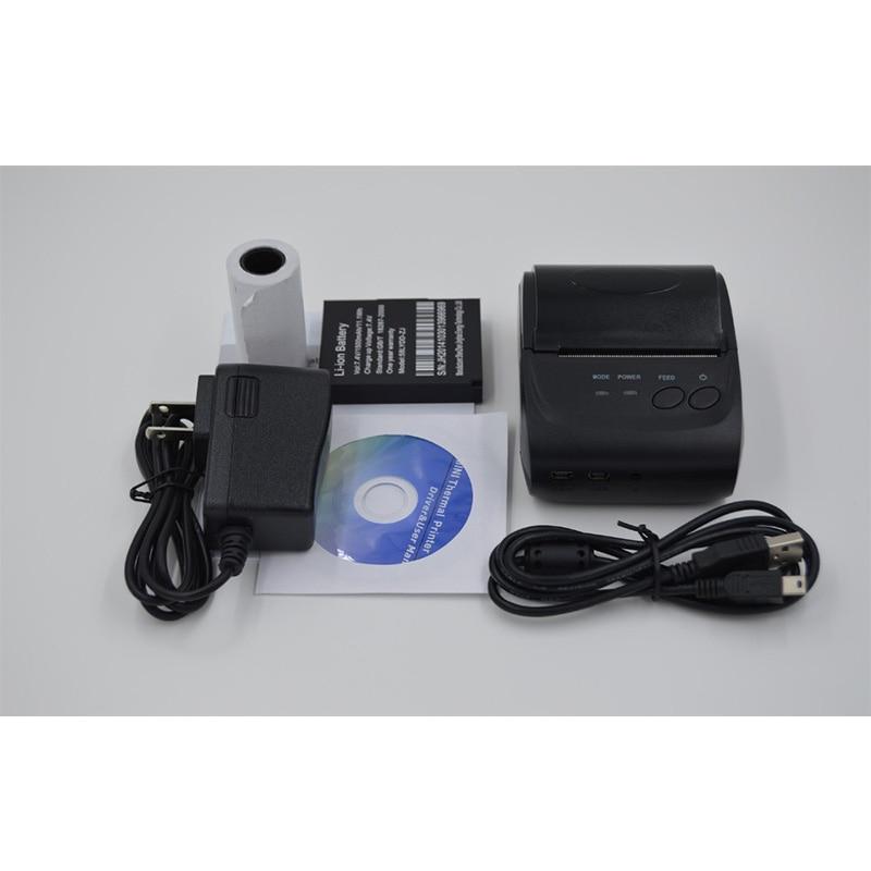 Impressoras android impressora térmica 58mm mini Velocidade de Impressão : 16ppm