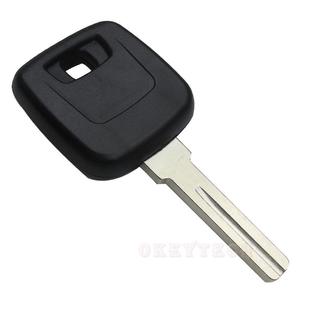 Good quality car blank transponder key shell for Volvo case for volvo v70 s80 s60 v40 xc90 s40 xc70 xc60 auto key shell blade
