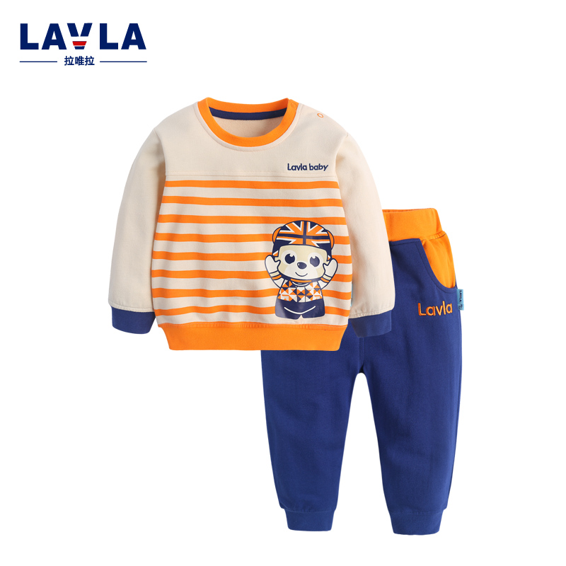 Lavla2016 new spring/autumn baby Boy clothing set boys sports suit set children outfits girls tracksuit kids causal 2pcs clothes 2017 new style spring autumn hoodie baby girl clothing set sequin lace long sleeve velour sports jacket long trousers outfits