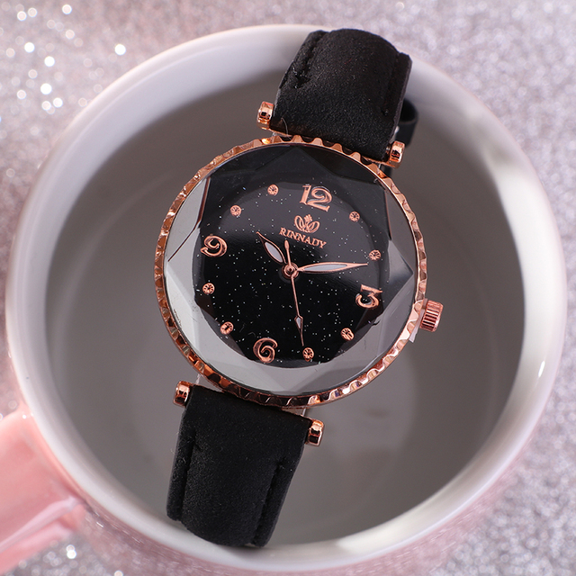 Reloj Mujer Women Watch 2018 Fashion Watches Women Starry Sky Quartz Wristwatch