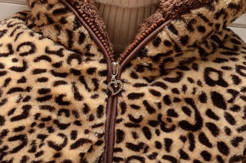 CROAL CHERIE Russian Thicken Winter Coat For Teenage Girls Fleece Velvet Children Girls Winter Jacket Children Clothing 73-120cm (6)