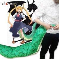Coshome Kobayashi San Chi No Maid Dragon Maid Tohru Toru Cosplay Tails Props Gragon Tails Huge 150cm Tail