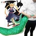 Coshome Kobayashi San Chi No dama dragón criada Tohru Toru Cosplay cola accesorios Gragon colas enorme 150cm cola