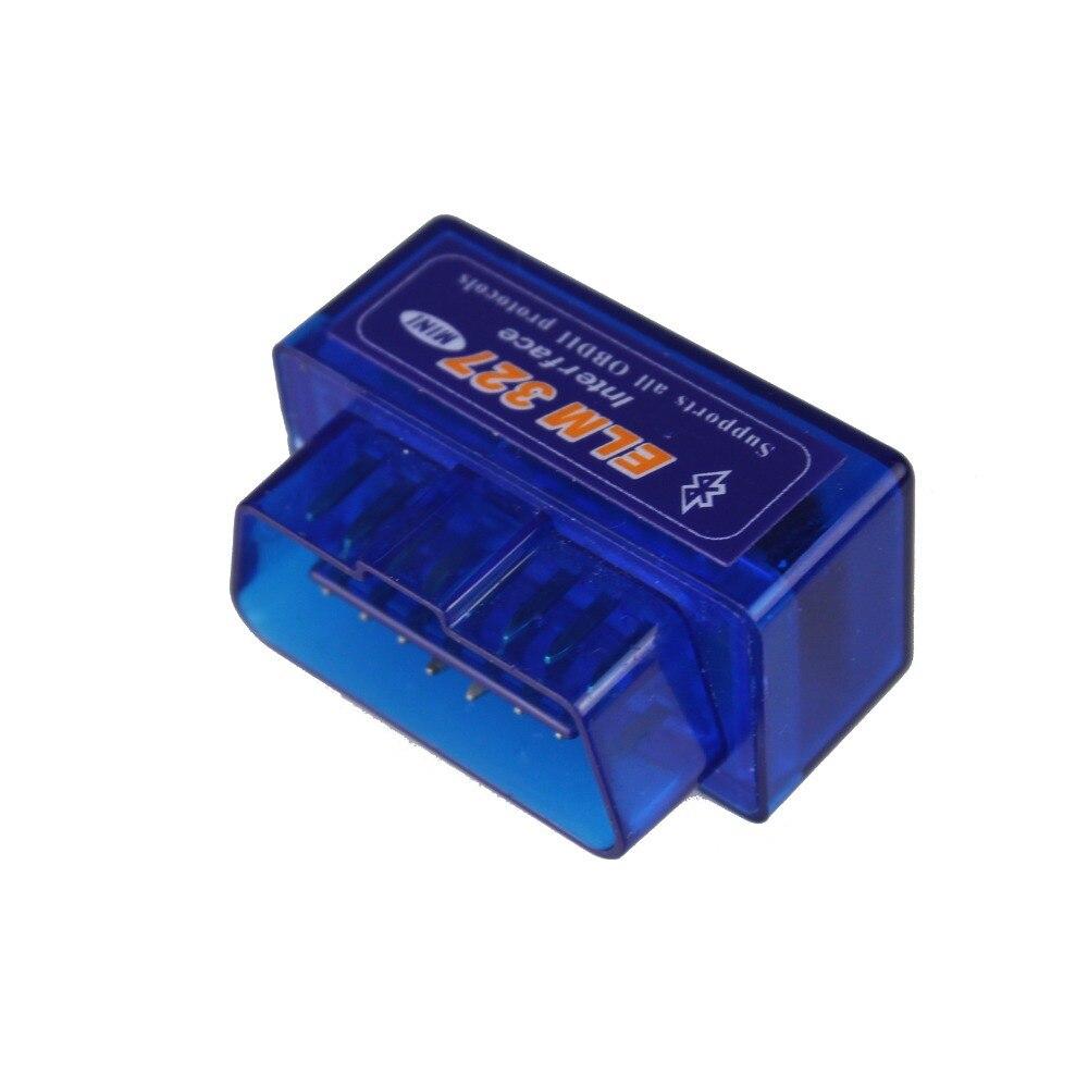 1 pz ELM 327 V2.1 Bluetooth Veicolo Strumento Diagnostico OBD2 OBD-II ELM327 Auto Interfaccia Dello Scanner Funziona Su Android