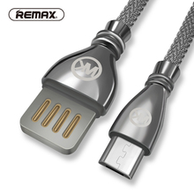 Zinc Alloy Data Cable for Micro USB Metal Braided Fast Charging Sync Data Transfer 2.1A charger Cable for Samsung/xiaomi