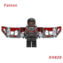 Infinity War Falcon Model mini doll 2018 Super Heroes Avengers 3 Star Wars 76104 Building Block