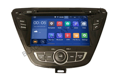 RK3188 HD7 inch 1024×600 Capacitive Screen Quad Core Android 5.1 Car DVD PLAYER DVD GPS For Hyundai Elantra 2014 2015+ FREE MAP