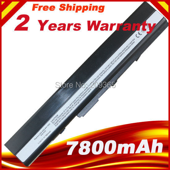 [Special Price] 9 cells 7800mAh Laptop battery for Asus A52 A52J K42 K42F K52F K52J Series, A31-K52 A32-K52 A41-K52 A42-K52