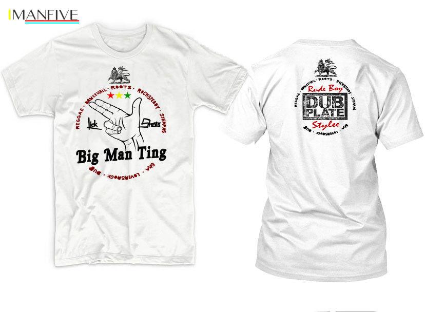 2019 New Men 39 S T Shirt Reggae T Shirt Jah Rastafari Haile Selassie Steel Pulse Chronixx Rub a Dub tee T shirt in T Shirts from Men 39 s Clothing