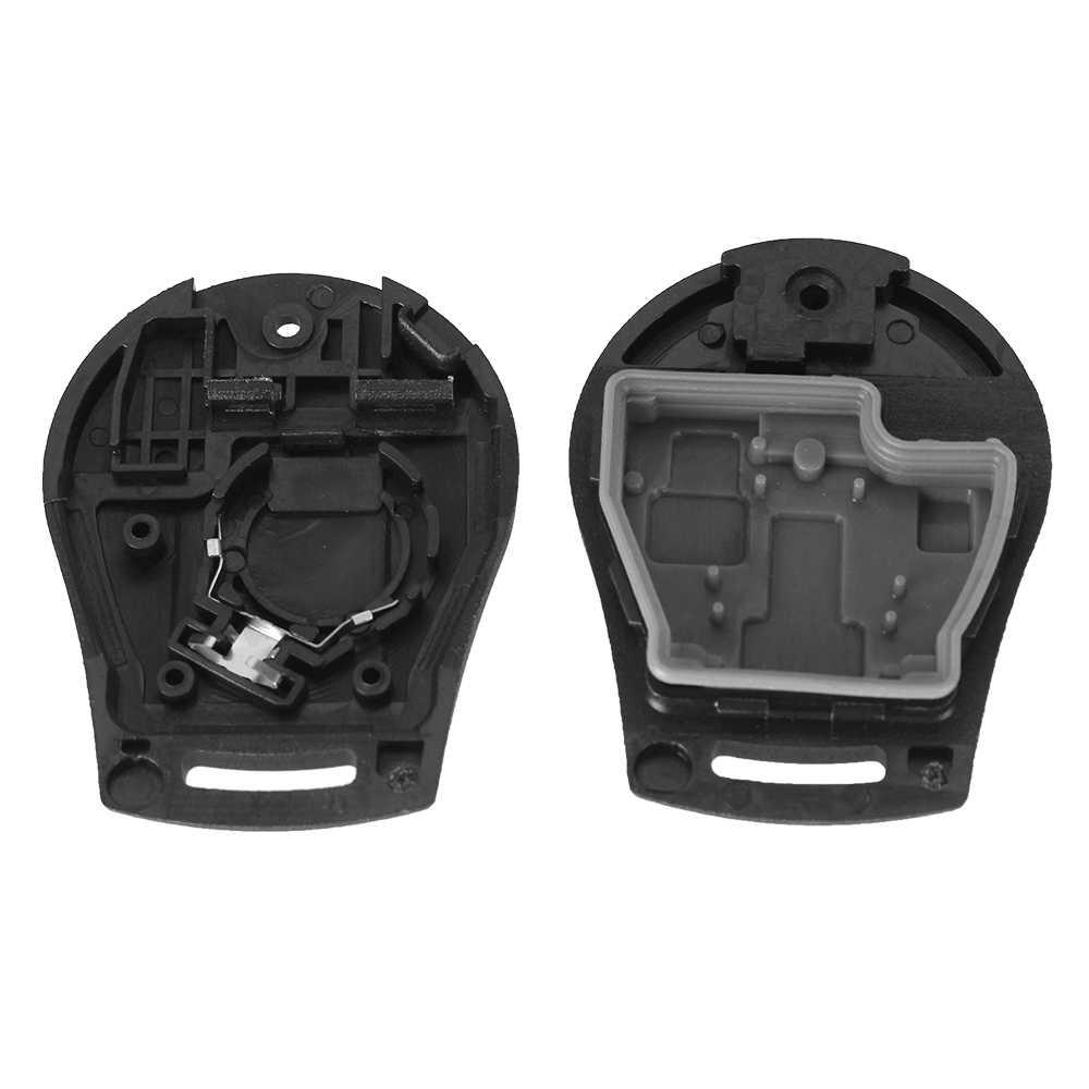 DANDKEY 2 кнопки Смарт Флип складной дистанционный ключ корпус Стайлинг Fob для Nissan Cube Micra Qashqai Juke