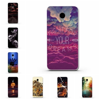 Fashion Ultra Thin Soft Silicone TPU Beautiful Beach Cloudy Moon Scenery Phone Case for Meizu M3 Meiblue3 Meilan 3 Case image