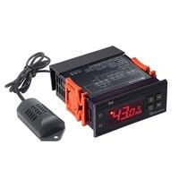 Ketotek 110 В 220 В мини цифровой контроллер влажности воздуха цифровой контроллер метр Датчик higrometre hygrostat метеостанция