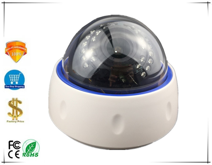 2 8 12mm Manual Zoom IP Dome Camera Sony IMX307 3516E 1080P H 265 1920 1080