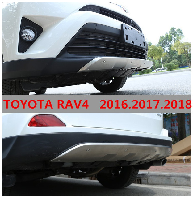 auto bumper guard for toyota rav4 high quality stainless steel front rear bumper. Black Bedroom Furniture Sets. Home Design Ideas