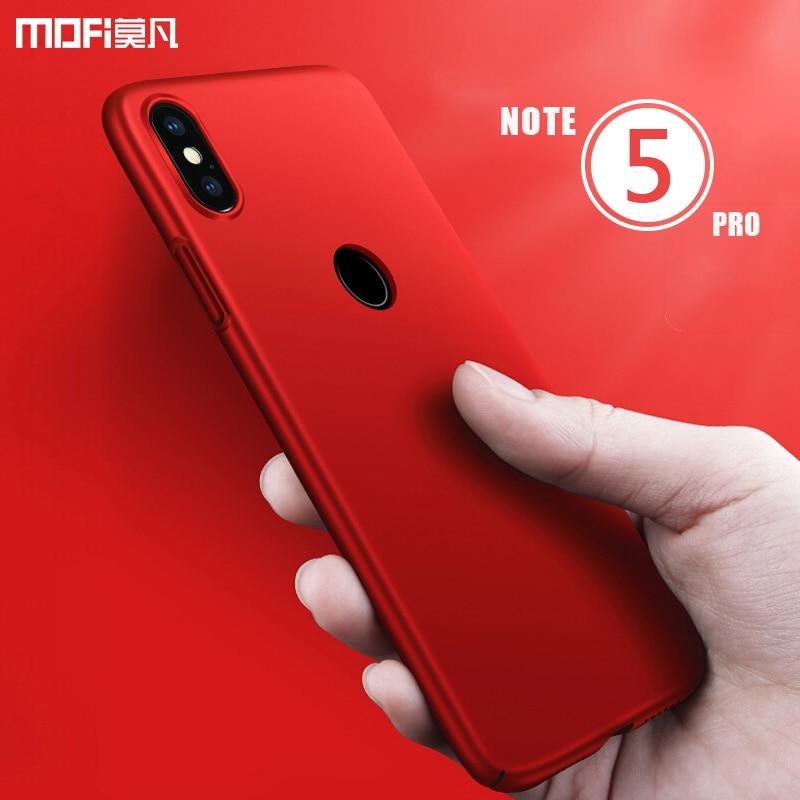 redmi note 5 case cover redmi note 5 global version back cover case MOFI for xiaomi redmi note 5 Pro PC hard frosted case 5.99''