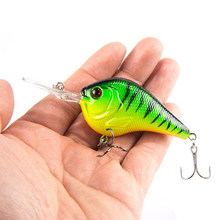 1PCS Fishing Lure Deep Swimming Crankbait 9.5cm11g Hard Bait Tight Wobble Slow Floating Fishing Tackle