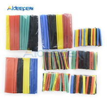 328Pcs/pack Assorted Polyolefin Heat Shrink Tubing Insulation Shrinkable Tube Cable Sleeves Wrap Wire Set