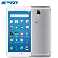 Original Meizu M5 Note 3GB 16GB/32GB Global Firmware 4G LTE Cell Phone Helio P10 Octa Core 5.5