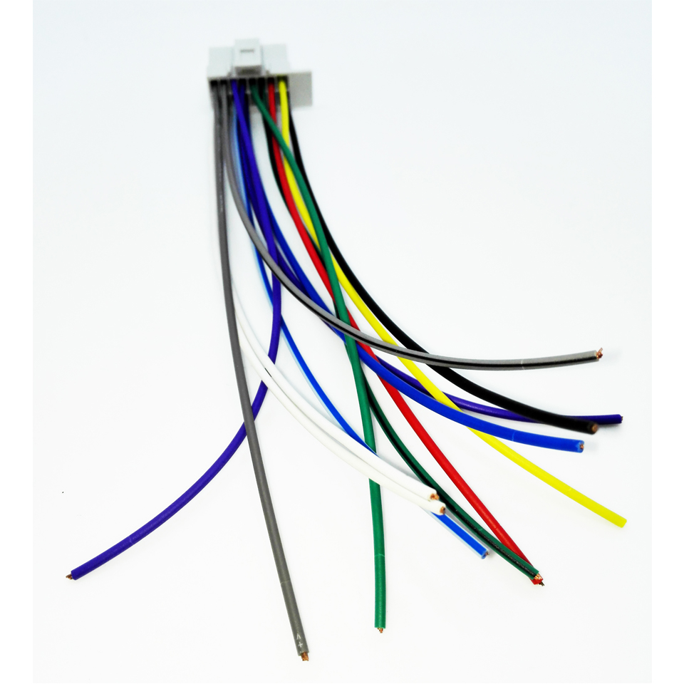 Car ISO Wiring Harness For Panasonic CQ C DFX DP HR HX Auto Stereo Radio Wire car iso wiring harness for panasonic cq c dfx dp hr hx auto hr holden wiring harness at fashall.co