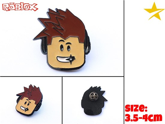 Giancomics Hot Roblox Anime Alloy Keychain/Necklace Key Keyring Cosplay Costume Collection Pendant Ornament