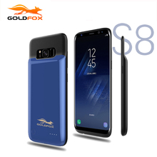 GOLDFOX 4000mAh For Samsung font b Galaxy b font font b S8 b font Battery Case
