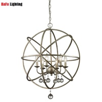 NEW Vintage Iron Pendant Light Industrial Droplight Bar Cafe Bedroom Restaurant American Country Style Hanging Lamp