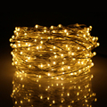 66feet 200led Silver Wires Led Fairy Lights Christmas Decoration String Light With Itouch Dimmable 12V 1A Adapter US/UK/EU Plug