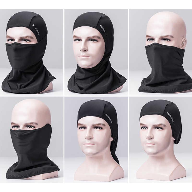 ROCKBROS велосипедная лицевая маска многофункциональный шарф летняя антиуф маска для лица шеи портативный шарф головные уборы для езды на велосипеде маски