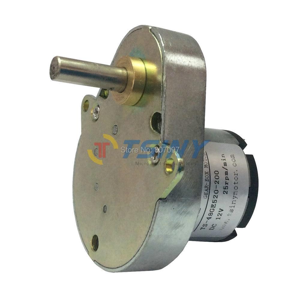 DC ZS-RE 12V 24V Duck Pear-Shaped Motor Machine Motor 12RPM-300RPM