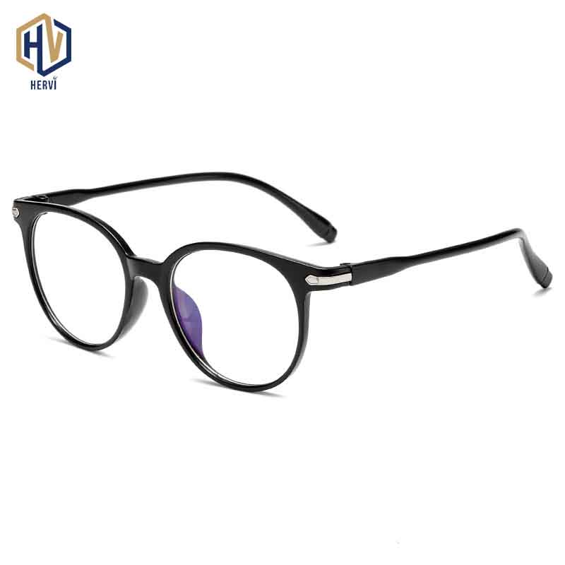 Round Anti Blue Light Optics Glasses Frame New Boy Girl Solid Color Transparent Spectacles Frames Child Prescription Eyeglasses