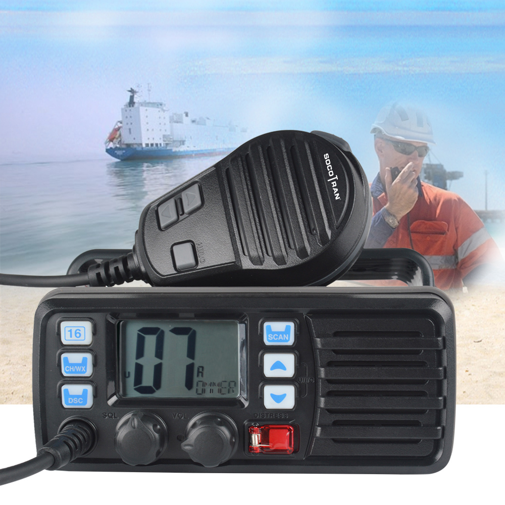 Image 4 - 25W High Power VHF Marine Band Walkie talkie Mobile Boat Radio Waterproof 2 Way Radio mobile transceiver RS 507M-in Walkie Talkie from Cellphones & Telecommunications