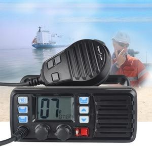 Image 4 - 25W High Power VHF Marine Band Walkie talkie Mobile Boat Radio Waterproof 2 Way Radio mobile transceiver RS 507M