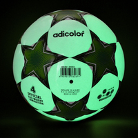 Size 4 Hot Patching Adicolor Football Night Light Noctilucent Soccer Ball Children Game Train Balls Children