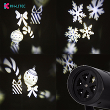 LED Fairy Lights Snowflake LED Moving Head Stage Light Landscape Projector Laser Lamp For Christmas Party Light Garden Outdoor