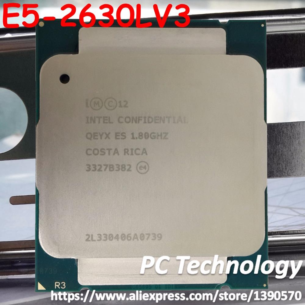 Prix pour E5-2630L V3 Meilleure qualité QS version E5 2630LV3 CPU 8-cores 1.80 GHZ 20 MB 22nm LGA2011 E5 2630L V3 processeur 1 année garantie