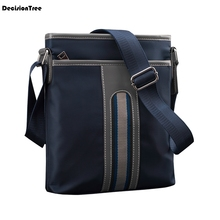New Modern Casual Men Cloth Briefcase Simple Trendy Students College Shoulder Bag Bolso Exquisite Work Bags Bolso Hombre C109