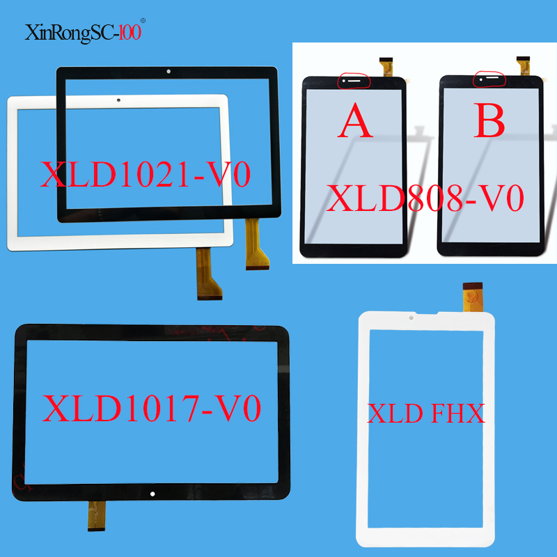 New Tablet PC Capacitive Touch Screen Panel Digitizer code: XLD1021-V0 XLD776-V0 XLD1017-V0 XLD808-v0 XLD FHX cn016 v0 touchscreen