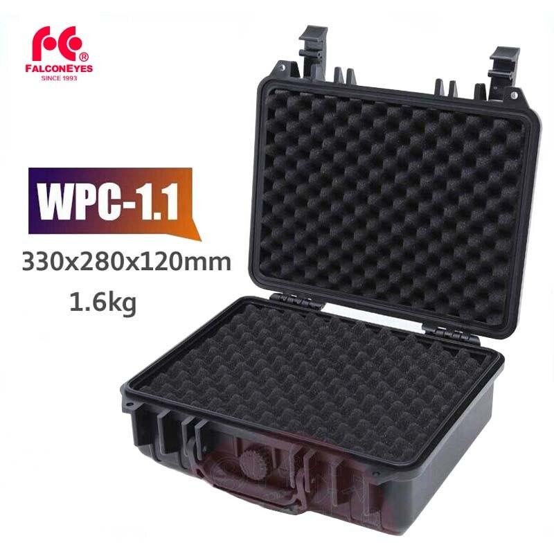Falconeyes Case WPC-1.1 Photography Photo Equipment Protecting Waterproof Dustproof Shockproof Black Case