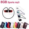 Caliente de la Alta calidad 8 GB reproductor de MP3 Del Deporte W262 Auriculares Estéreo MP3 auriculares walkman reproductor de mp3 envío gratis